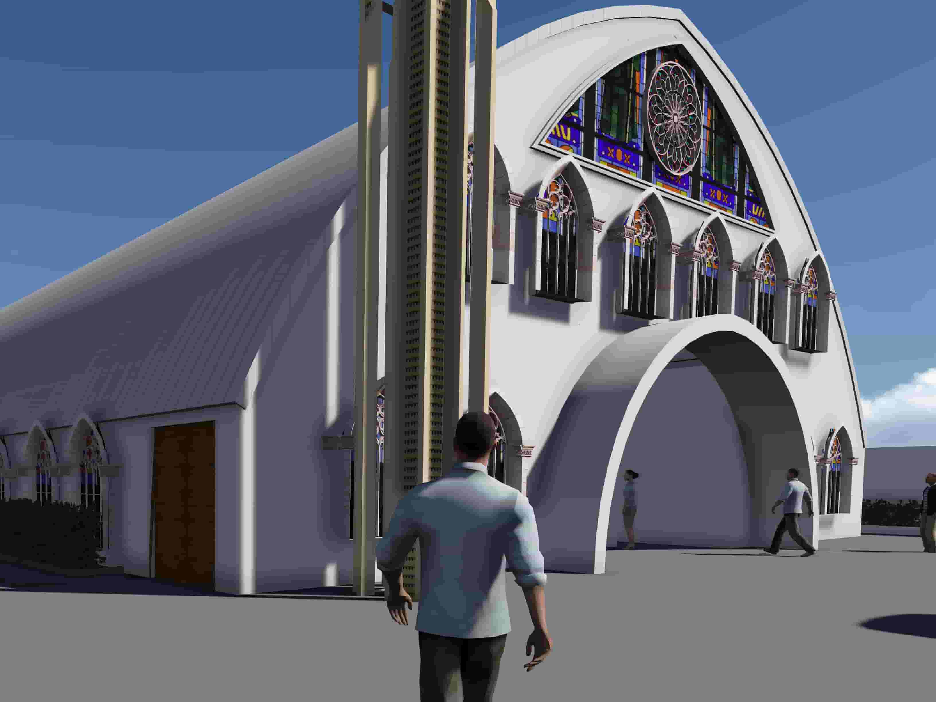 Proposed Church Design