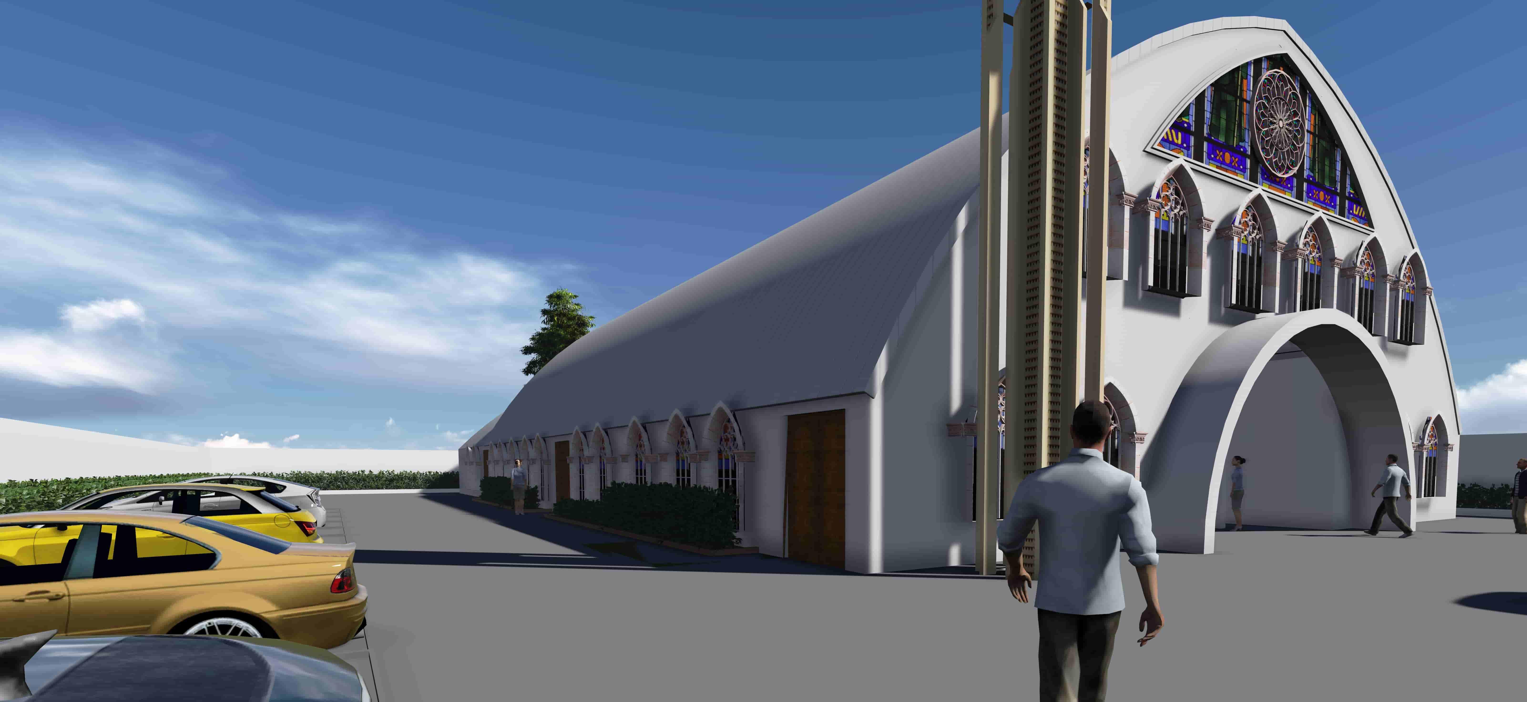 Proposed Church Design