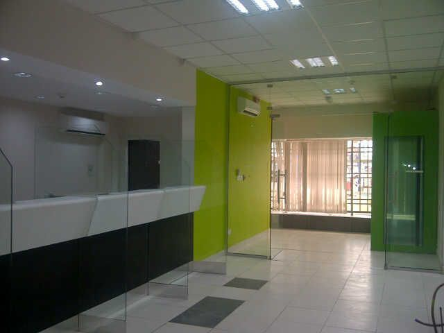 Construction of Diamond Bank Ikota