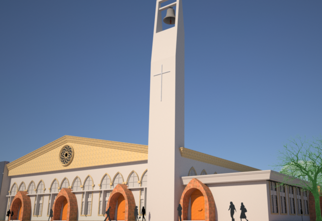 Proposed Renovation of Holy Family Cathedral